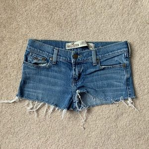 Basic Distressed Hollister Jean Shorts